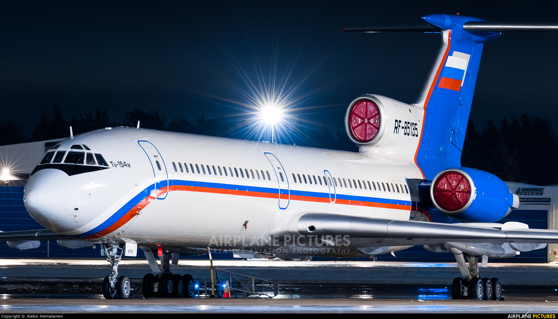 Russia - Ministry of Internal Affairs RF-85135 aircraft at Helsinki - Vantaa