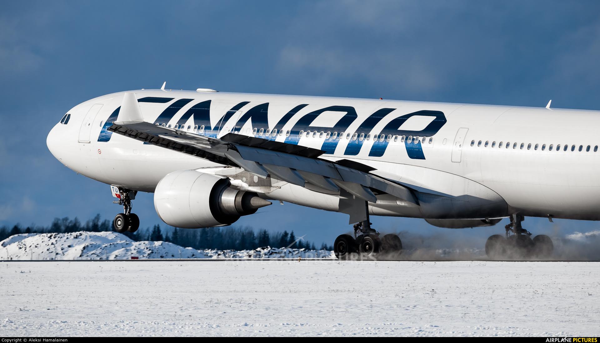 Finnair OH-LTU aircraft at Helsinki - Vantaa