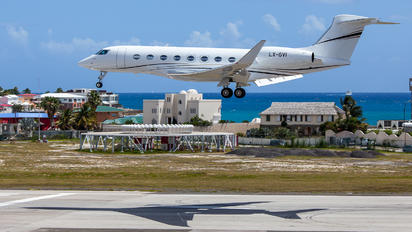 LX-GIV - Private Gulfstream Aerospace G650, G650ER