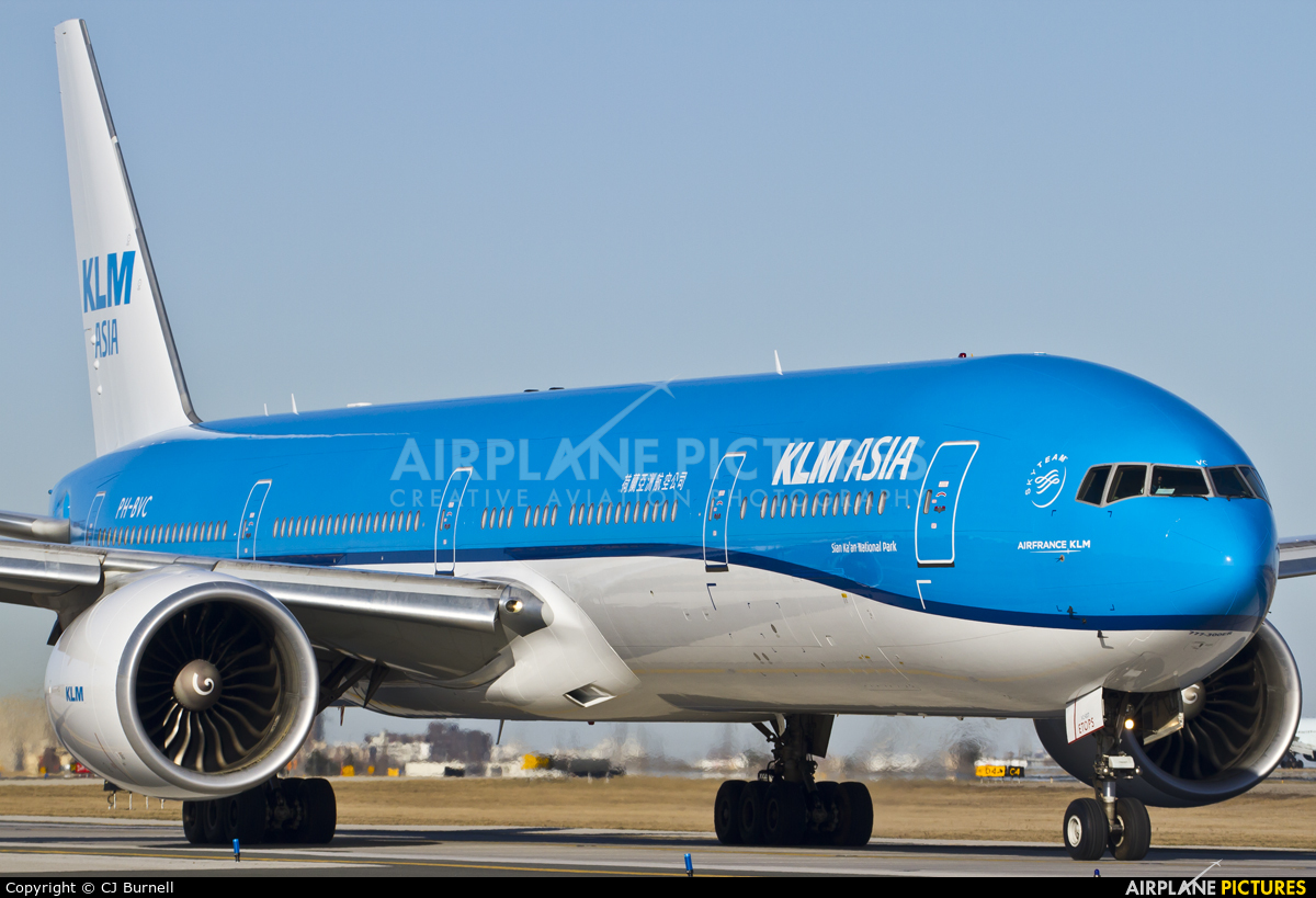 KLM Asia PH-BVC aircraft at Toronto - Pearson Intl, ON