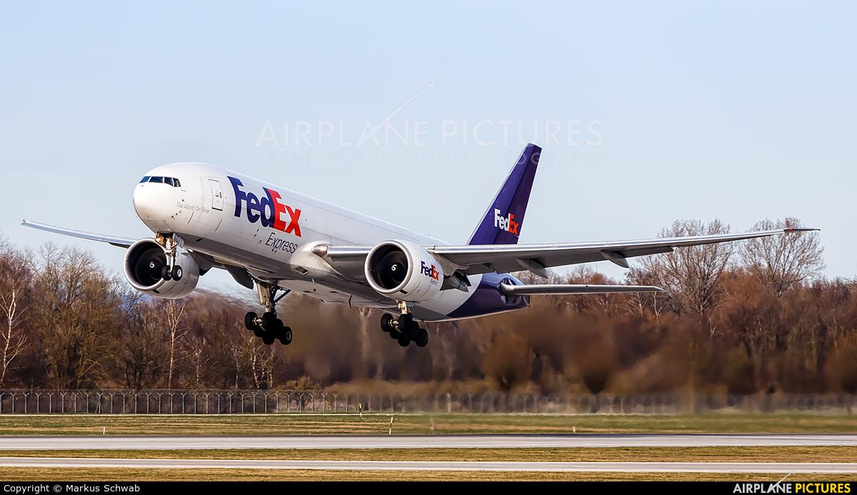 FedEx Federal Express N852FD aircraft at Munich