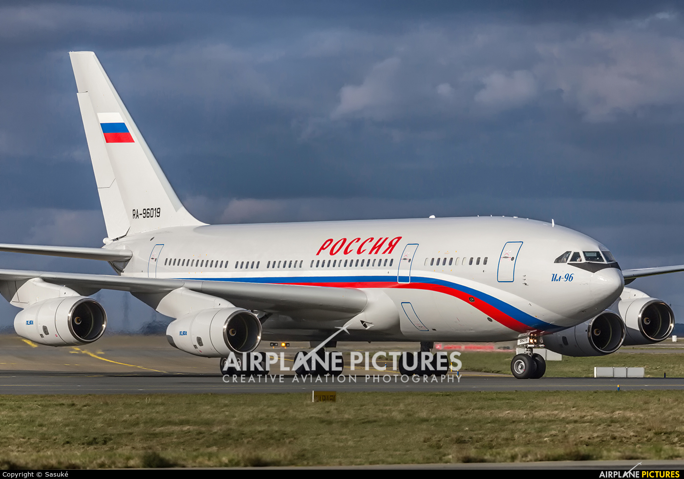 Rossiya RA-96019 aircraft at Paris - Charles de Gaulle