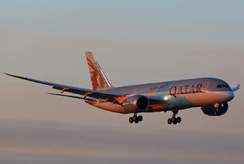 A7-BDA - Qatar Airways Boeing 787-8 Dreamliner