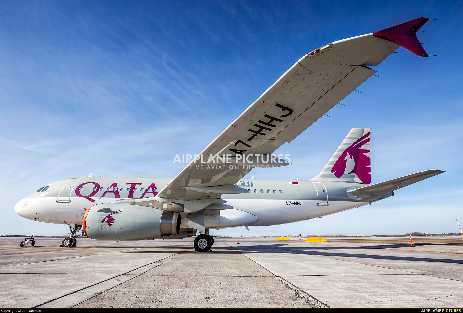 Qatar Amiri Flight A7-HHJ aircraft at Ottawa - Macdonald-Cartier Intl, ON
