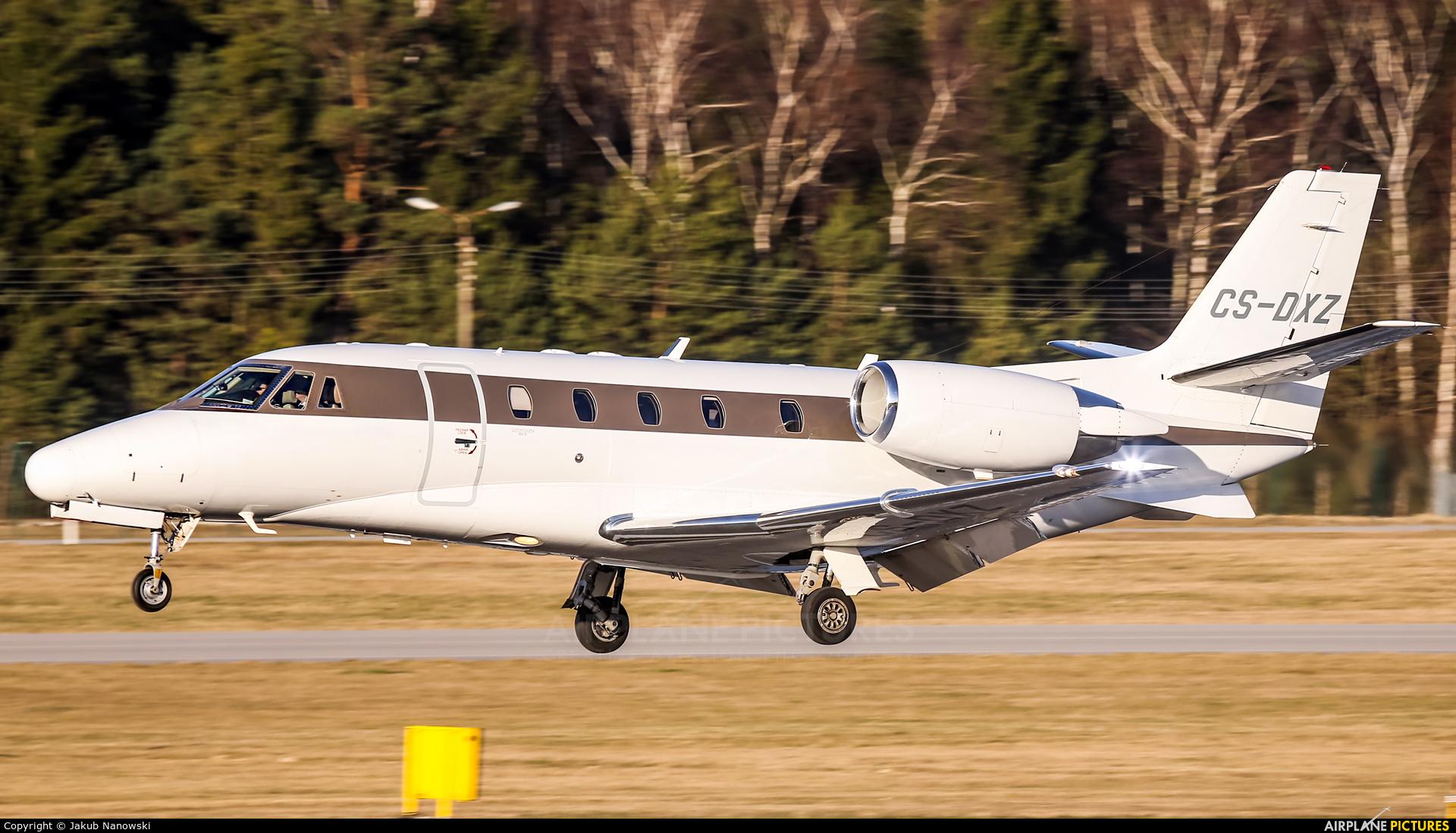 NetJets Europe (Portugal) CS-DXZ aircraft at Gdańsk - Lech Wałęsa