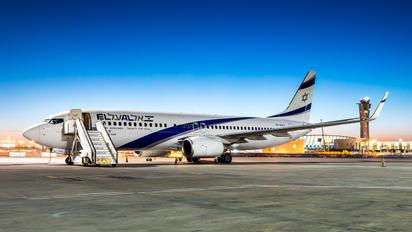 4X-EKJ - El Al Israel Airlines Boeing 737-800