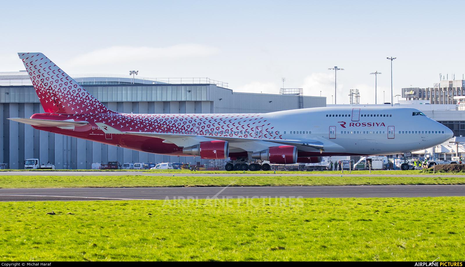 Rossiya EI-XLE aircraft at Dublin