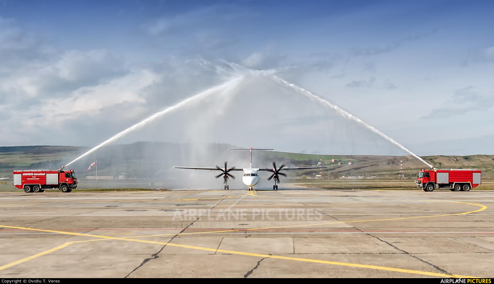 euroLOT SP-EQL aircraft at Cluj Napoca - Someseni