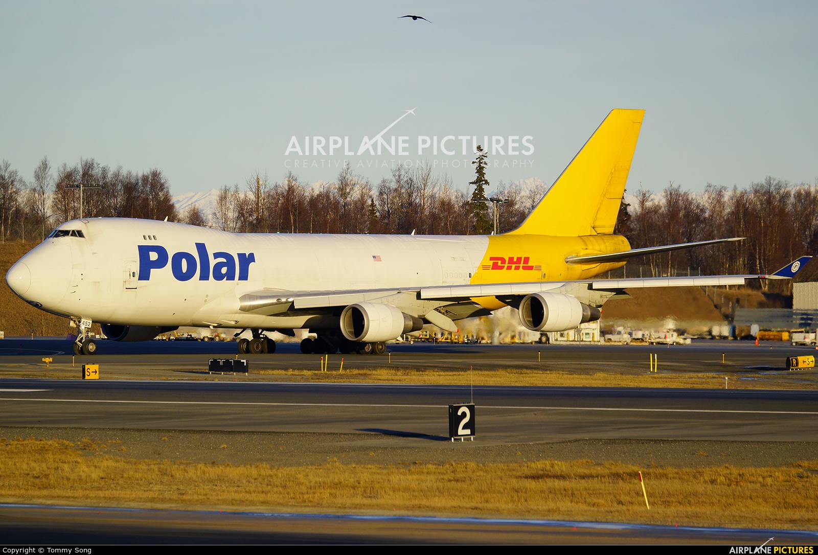 Polar Air Cargo N452PA aircraft at Anchorage - Ted Stevens Intl / Kulis Air National Guard Base