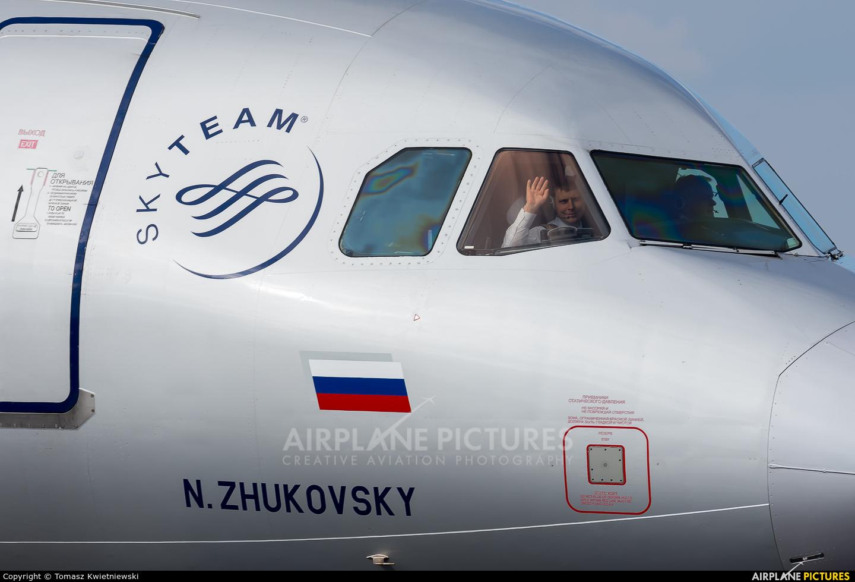 Aeroflot VQ-BEF aircraft at Prague - Václav Havel