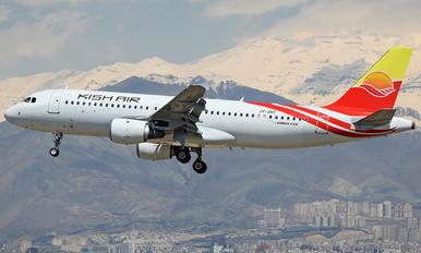JY-JAT - Kish Air Airbus A320