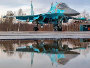 RF-95070 - Russia - Air Force Sukhoi Su-34