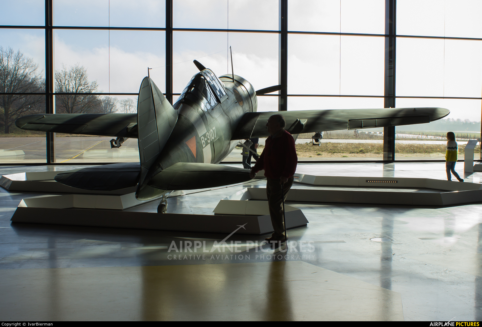 Netherlands - Air Force B-3107 aircraft at Soesterberg - Nationaal Militair Museum