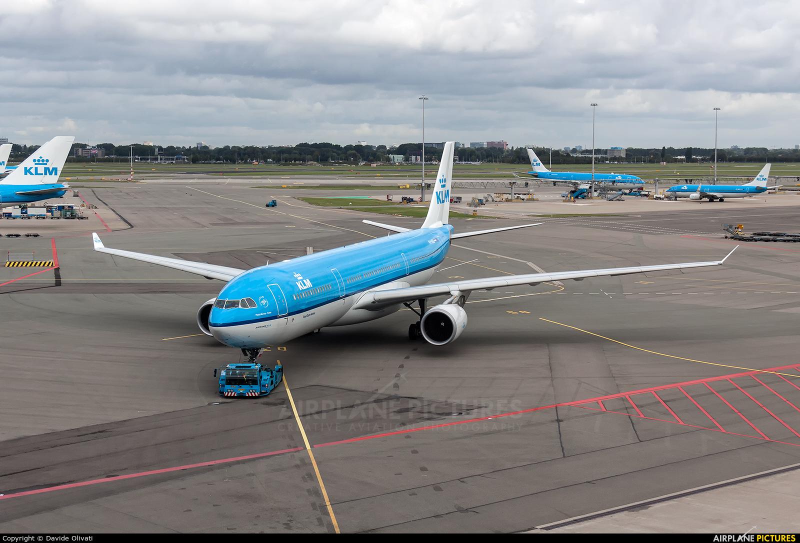 KLM PH-AKB aircraft at Amsterdam - Schiphol