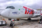 PR-XTA - TAM Airbus A350-900 aircraft
