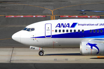JA8404 - ANA Wings Boeing 737-500