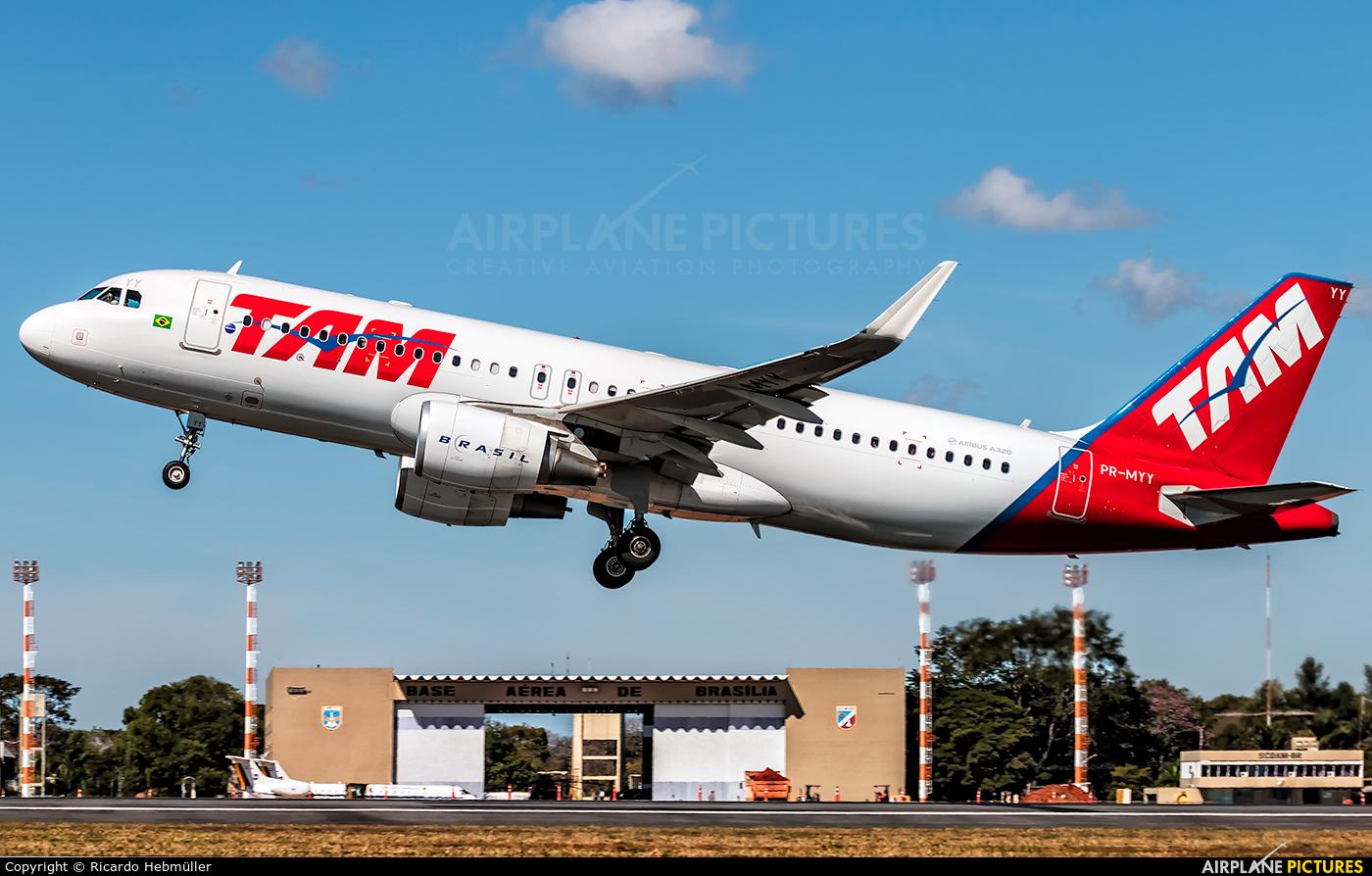 TAM PR-MYY aircraft at Brasília - Presidente Juscelino Kubitschek Intl