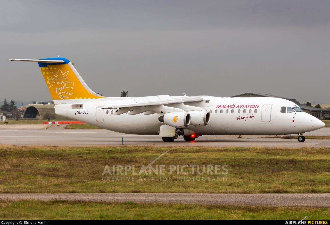 Malmo Aviation SE-DSO aircraft at Verona - Villafranca