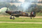 G-HURI - Historic Aircraft Collection Hawker Hurricane I aircraft