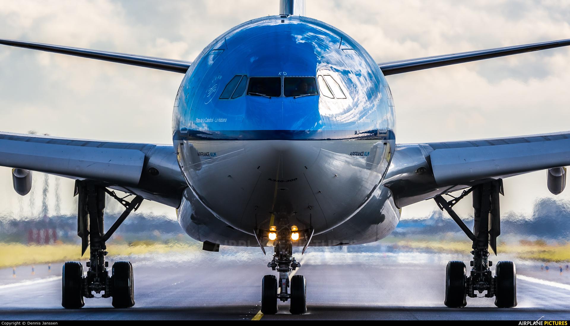KLM PH-AKD aircraft at Amsterdam - Schiphol