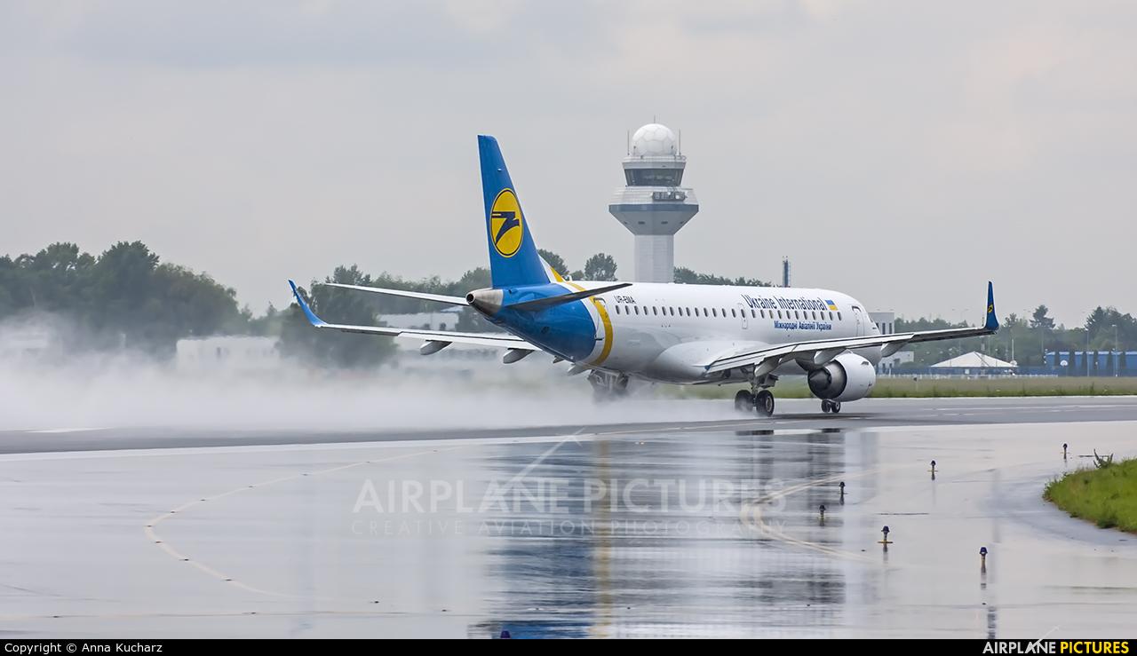 Ukraine International Airlines UR-EMA aircraft at Warsaw - Frederic Chopin