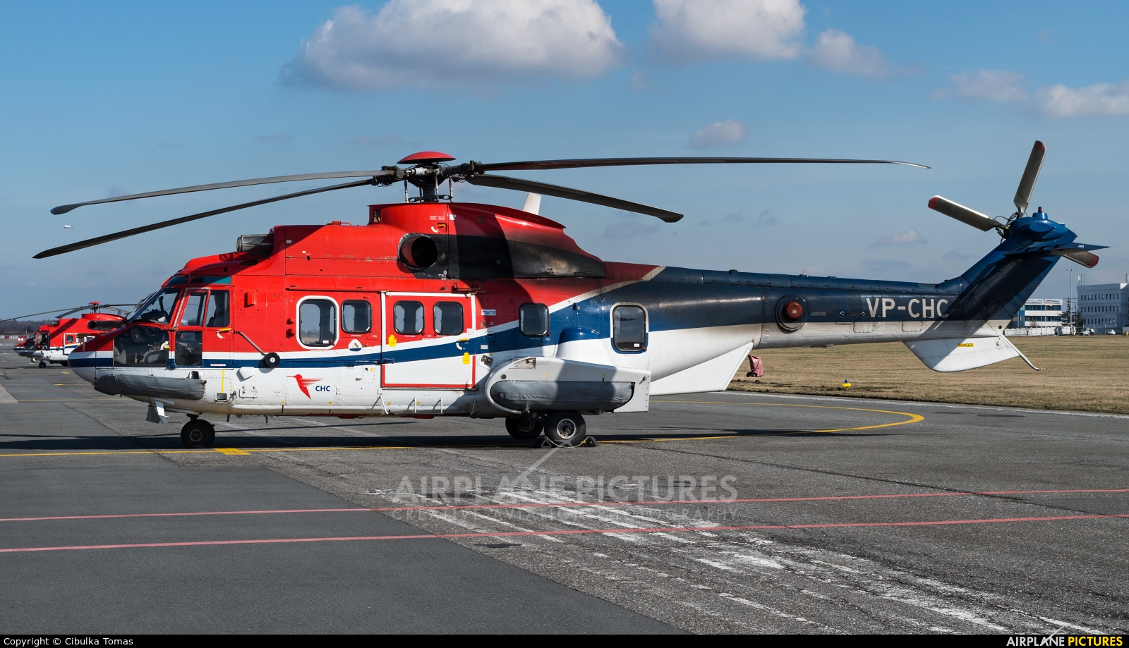 Private VP-CHC aircraft at Prague - Václav Havel