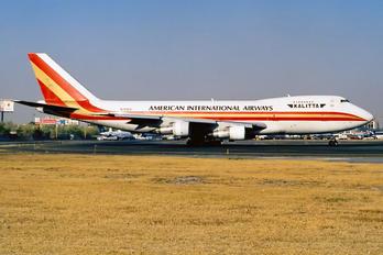 N708CK - Kalitta Air Boeing 747-200SF