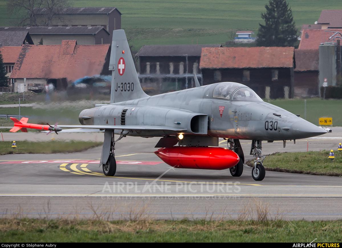 Switzerland - Air Force J-3030 aircraft at Payerne