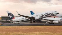 N538AS - Alaska Airlines Boeing 737-800 aircraft