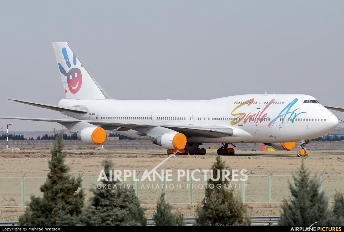 Smile Air EP-MNA aircraft at Tehran - Imam Khomeini Intl