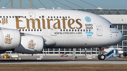 A6-EDM - Emirates Airlines Airbus A380