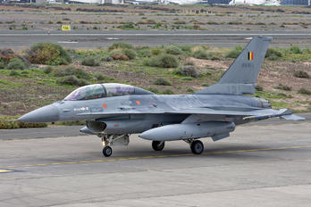 FB-21 - Belgium - Air Force General Dynamics F-16BM Fighting Falcon