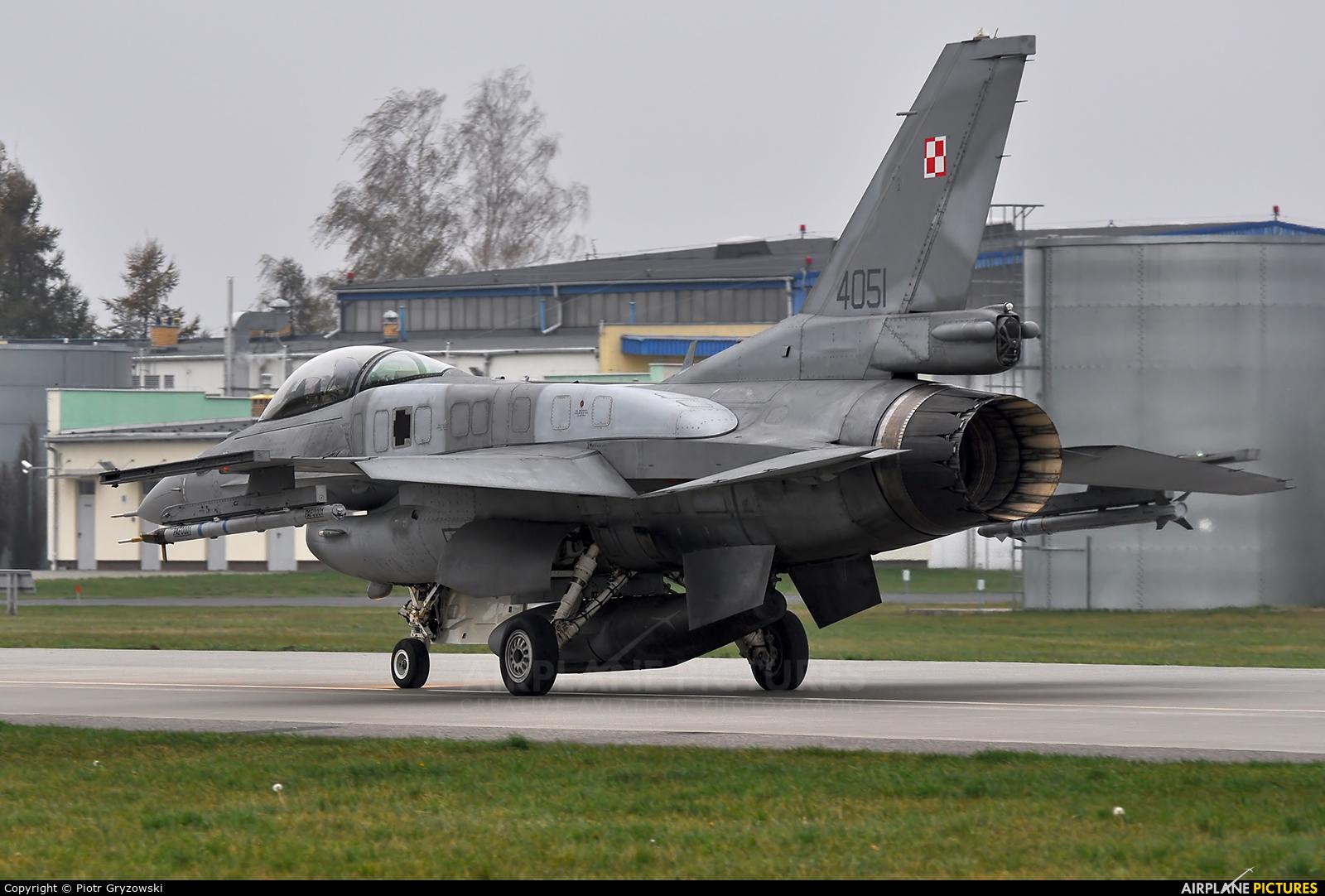 Poland - Air Force 4051 aircraft at Łask AB