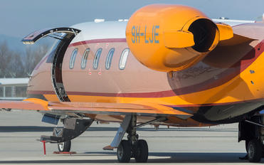 9H-LJE - Hyperion Aviation Learjet 60