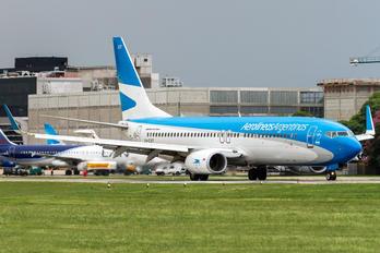 LV-CXT - Aerolineas Argentinas Boeing 737-800