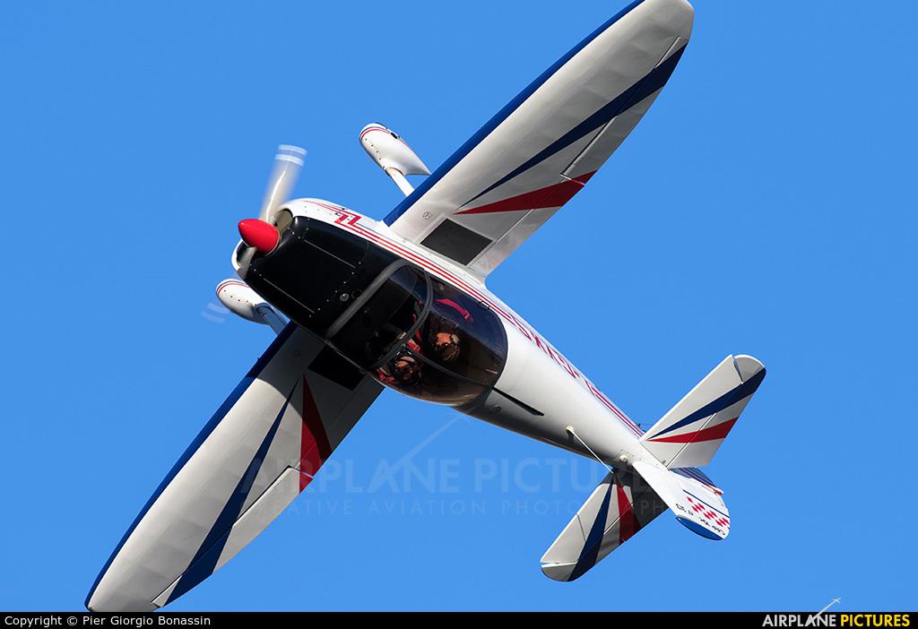 Private I-GYKS aircraft at Ravenna