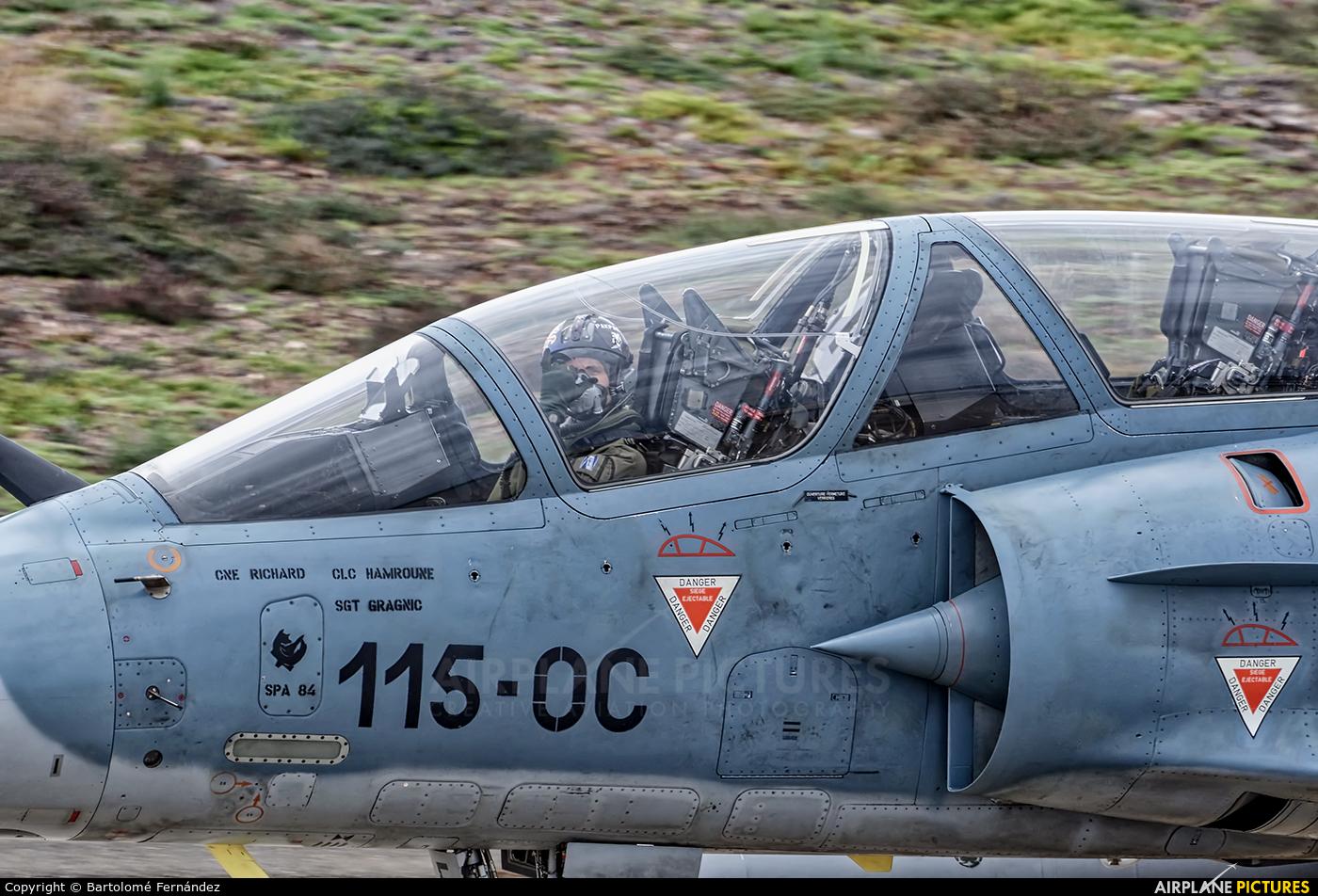 France - Air Force 529 /115-OC aircraft at Las Palmas de Gran Canaria