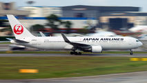 JA606J - JAL - Japan Airlines Boeing 767-300ER aircraft