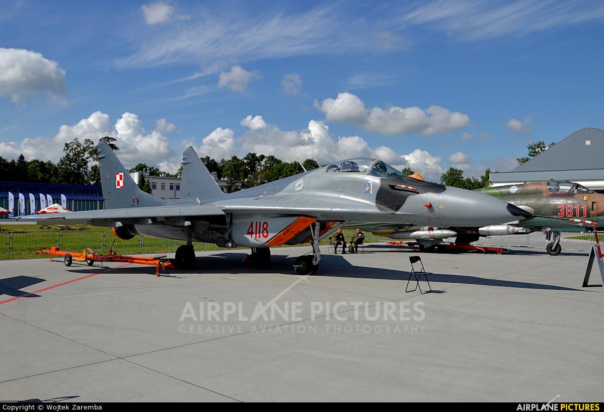 Poland - Air Force 4118 aircraft at Dęblin