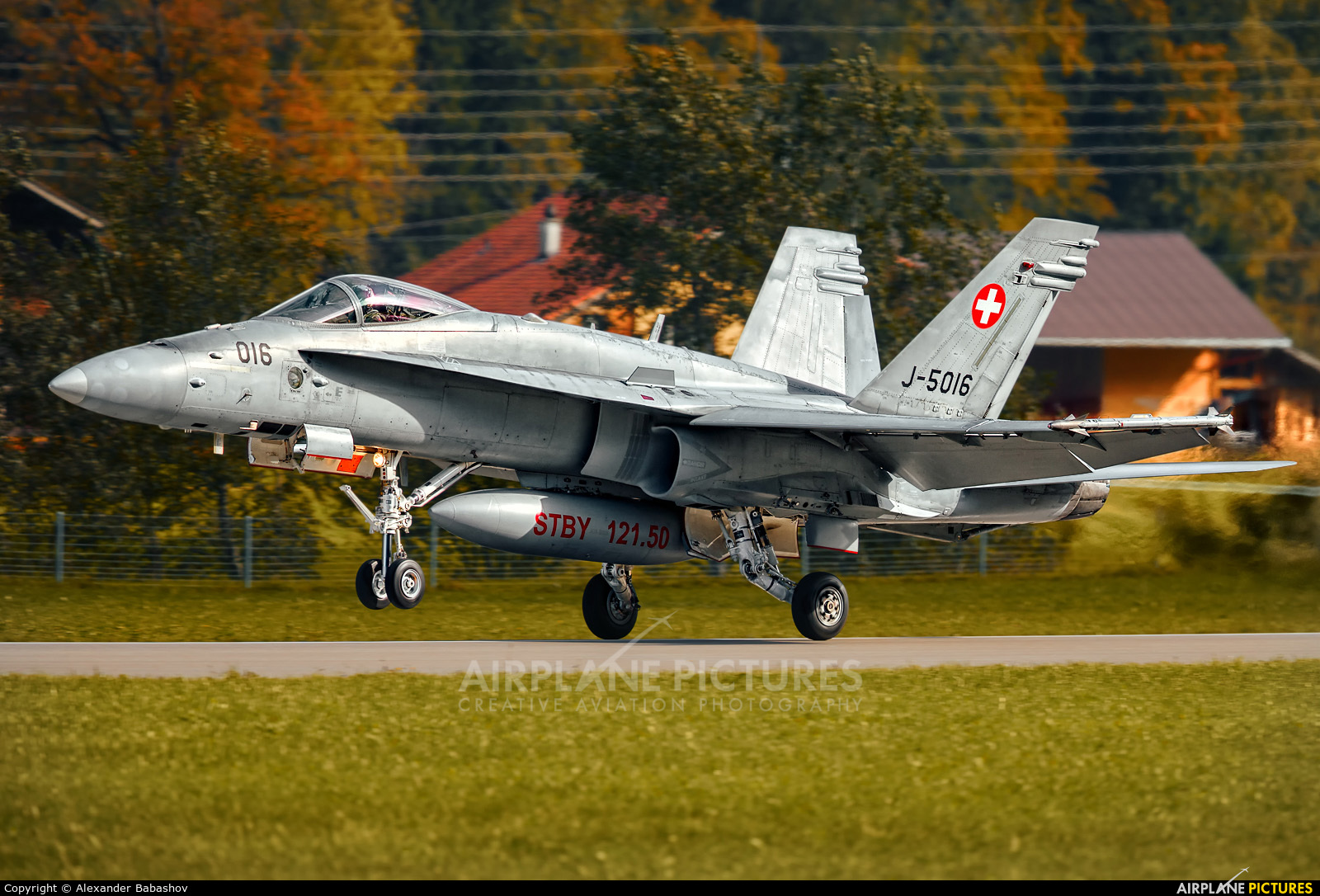 Switzerland - Air Force J-5016 aircraft at Meiringen
