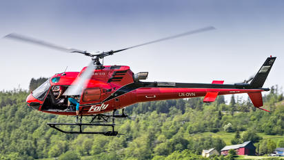 LN-OVN - Fonnafly AS Eurocopter AS350 Ecureuil / Squirrel