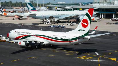 S2-AHO - Biman Bangladesh Boeing 737-800