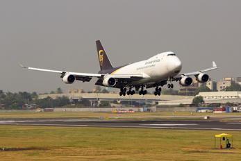 N576UP - UPS - United Parcel Service Boeing 747-400F, ERF
