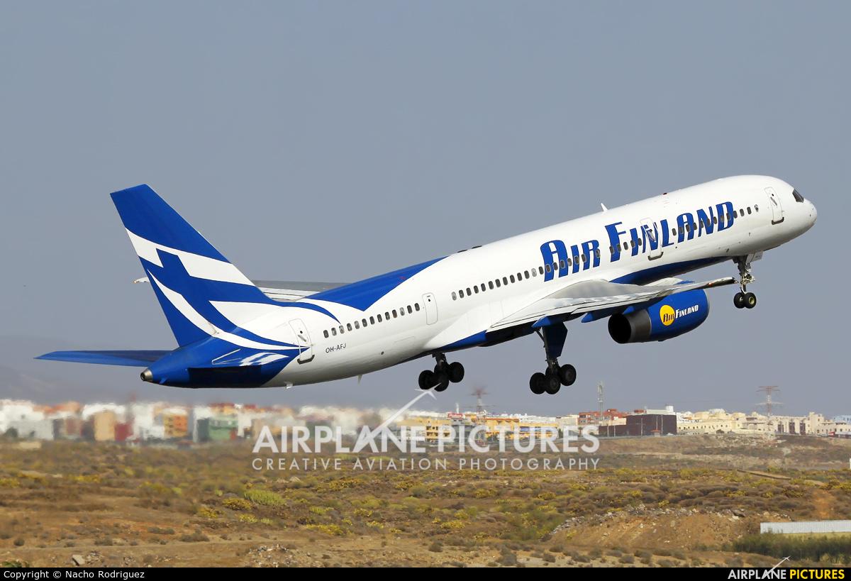 Air Finland OH-AFJ aircraft at Tenerife Sur - Reina Sofia