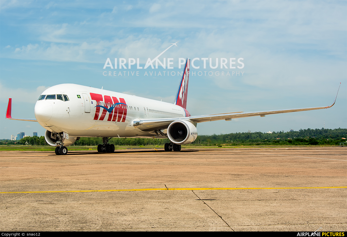 TAM PT-MOE aircraft at Asuncion - Silvio Pettirossi Intl