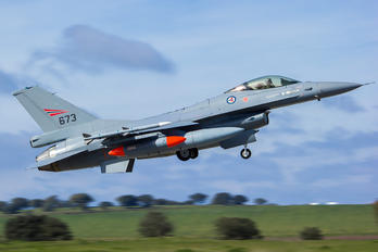 673 - Norway - Royal Norwegian Air Force Lockheed Martin F-16AM Fighting Falcon