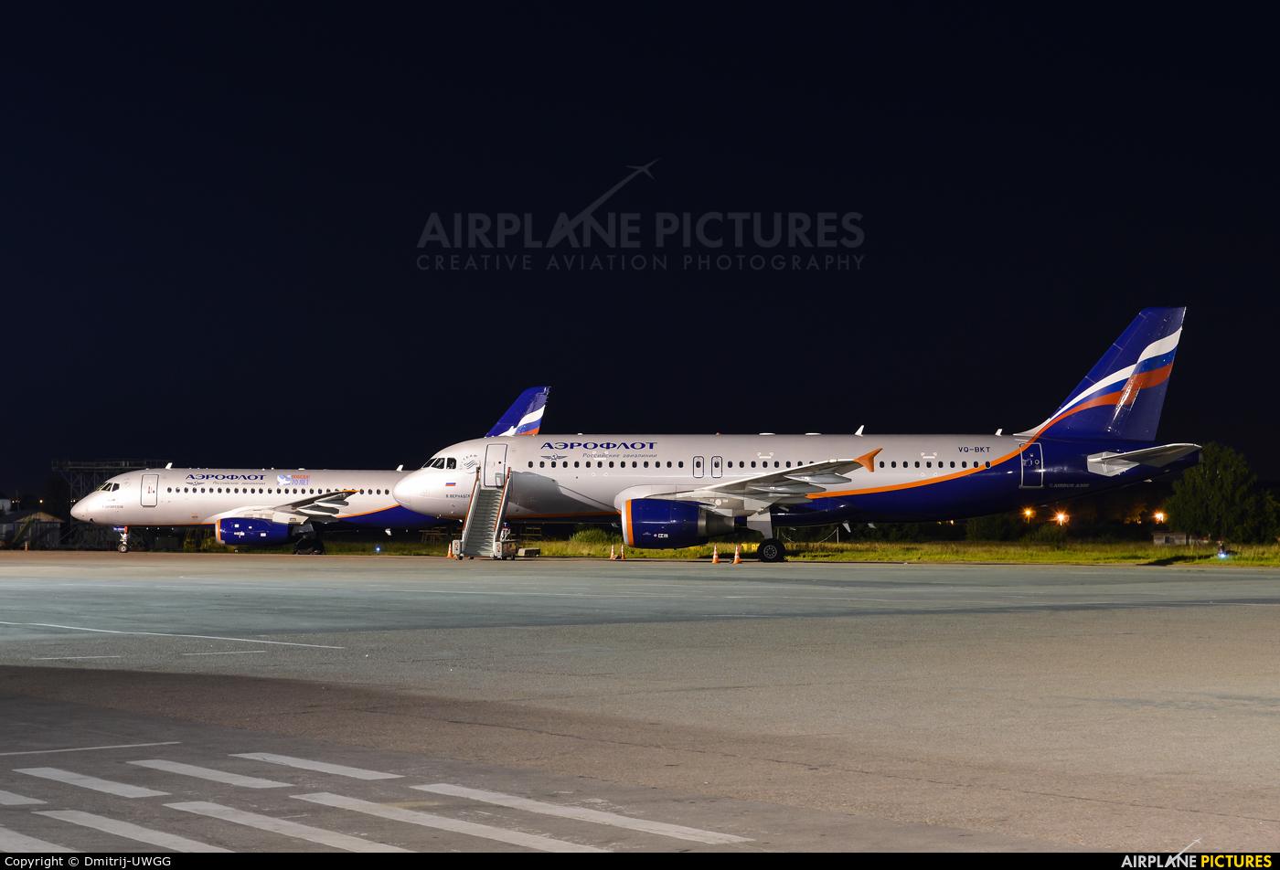 Aeroflot VQ-BKT aircraft at Nizhniy Novgorod