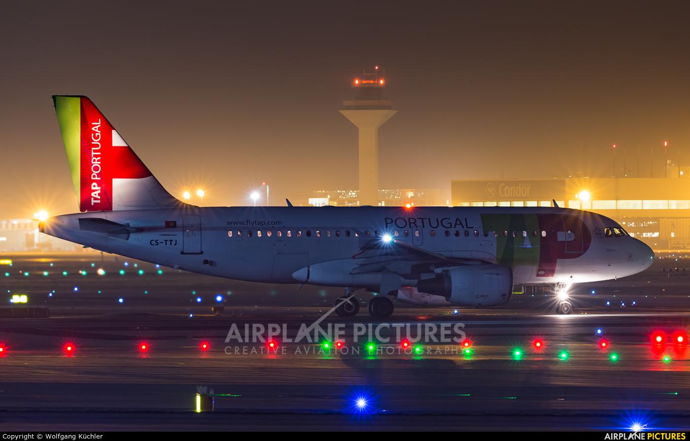 TAP Portugal CS-TTJ aircraft at Frankfurt