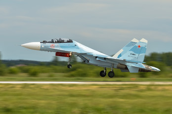 16-RED - Russia - Air Force Sukhoi Su-30SM