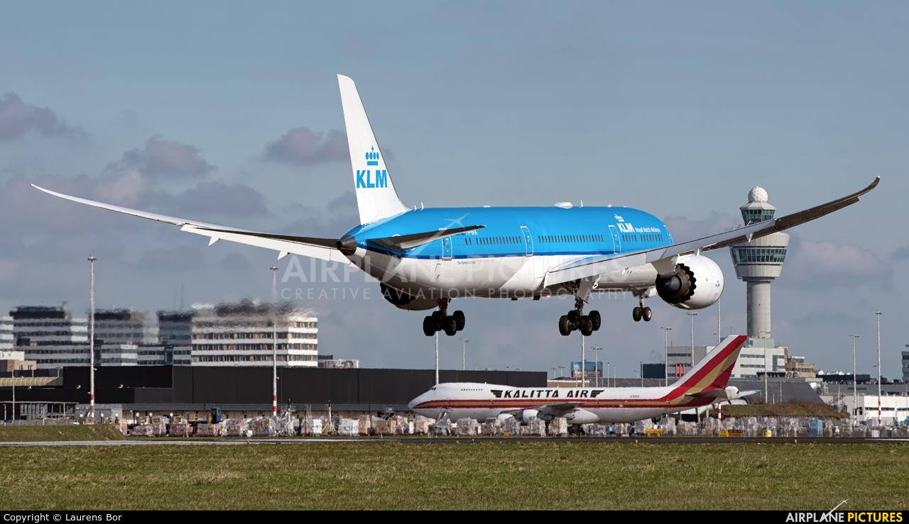 KLM PH-BHA aircraft at Amsterdam - Schiphol